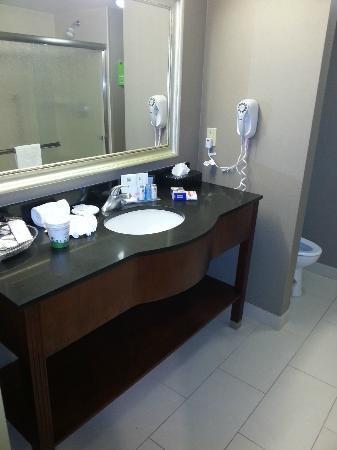 Hampton Inn Visalia: Banheiro do 434