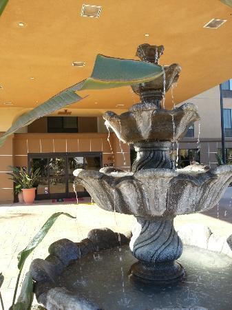 Hampton Inn Visalia: Detalhes decoração