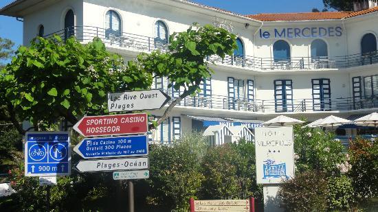 Hotel Mercedes : vue extérieure