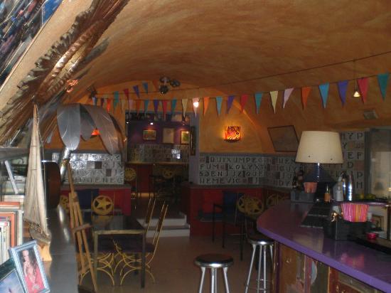 Mocambo : Interior zona copas
