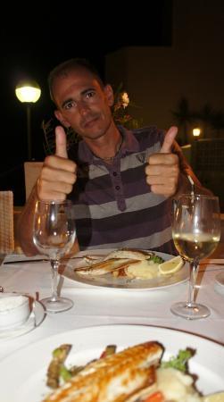 Hoposa Niu Hotel: Cenando en el Restaurante