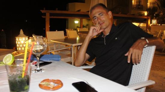 Hoposa Niu Hotel: Terraza Restaurante de copas