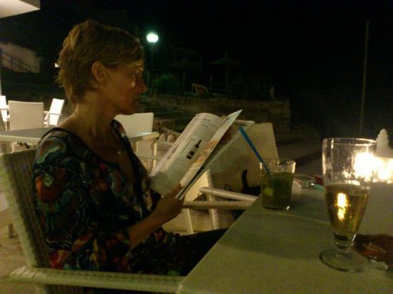 Hoposa Niu Hotel: Relax después de cenar