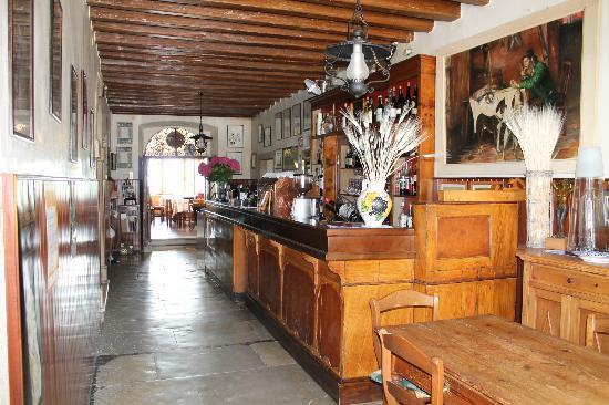 Albergo Ristorante Ai Pini : ingresso bar