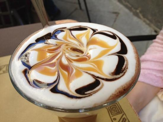 Caffe Tuscher : Now THATS a coffee!
