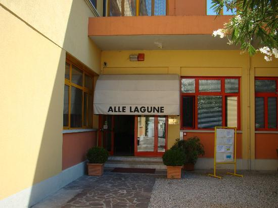 Alle Lagune: Wejśćie do hotelu
