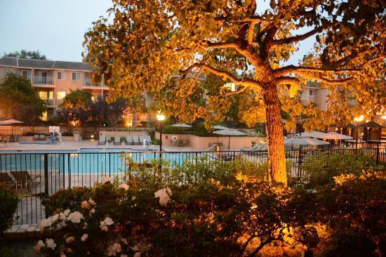 Hilton San Diego/Del Mar: Vista da piscina suite 192