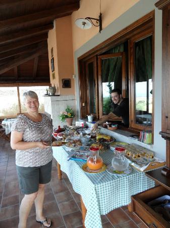 Casale Sasso: ontbijt mmmmmm