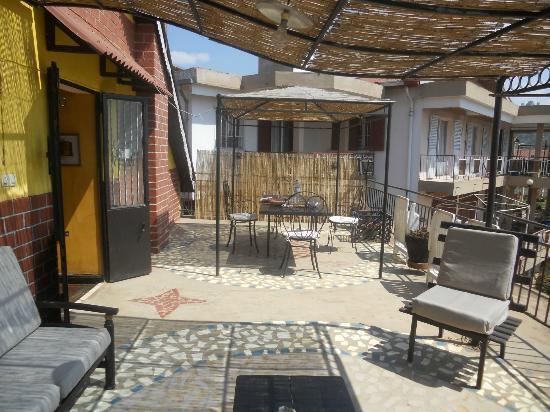 La Maison du Pyla: La terrazza
