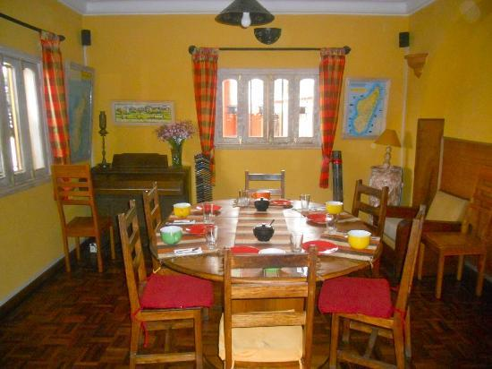 La Maison du Pyla: Tavola pronta per la colazione