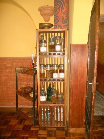 La Maison du Pyla: Il mobile dei rum