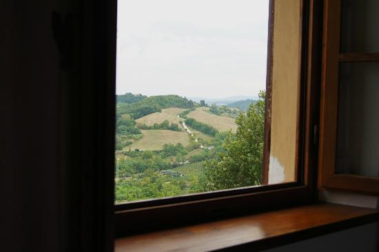 Villa San Lucchese Hotel: The view from our room, 216