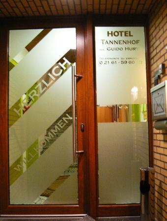 Hotel Tannenhof: Eingang