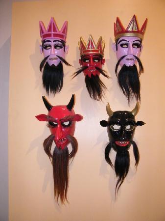 National Museum of Regional Masks (Museo Nacional de la Mascara): Máscaras de Ciudad del Maíz, San Luis Potosí