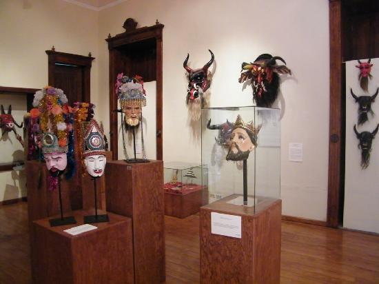 National Museum of Regional Masks (Museo Nacional de la Mascara): Máscaras de Sevina, Michoacan
