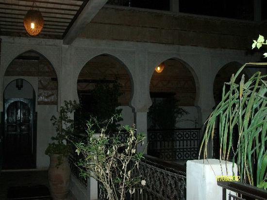 Les Sources Berberes Riad & Spa : Vue du 1er étage