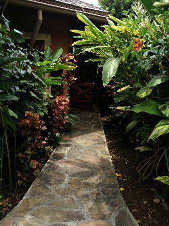 Nayara Resort Spa & Gardens: Walkway