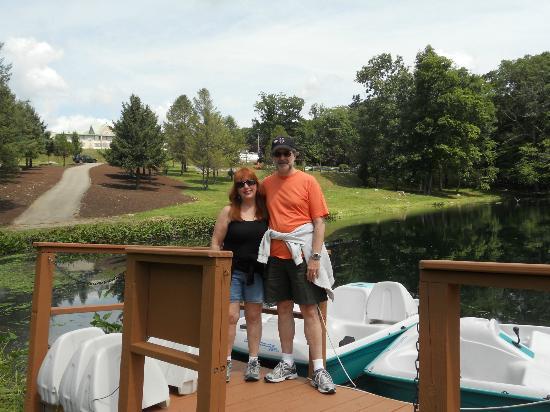 Bushkill Inn & Conference Center: Paddleboats