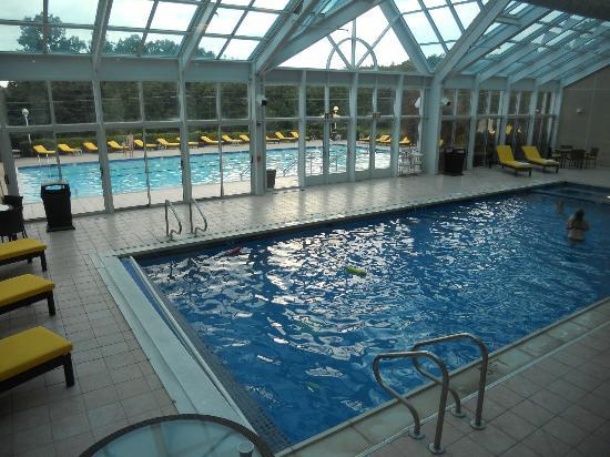 Indoor And Outdoor Pool Picture Of Bushkill Inn