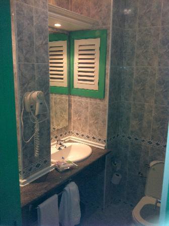 Atlantic Mirage Suites & Spa : salle de bain & wc