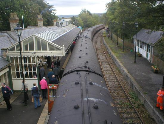 Weardale Railway: The RTC special awaits its return