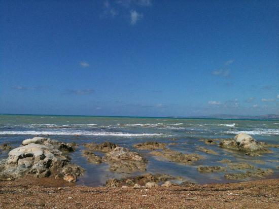 Agrigento, Italy: Il mare di Punta Bianca