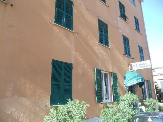 Hotel Stagnaro: Vista Hotel - ingresso