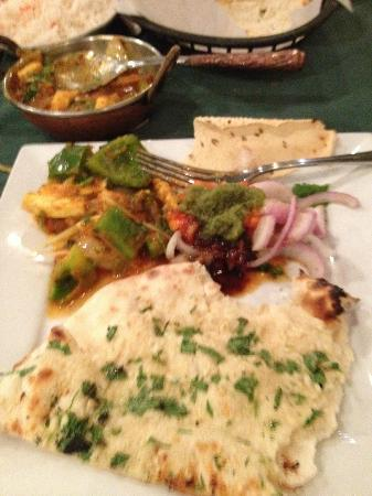 Taste of India: Kadhai Paneer and Naan