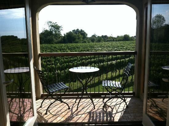 Sannino Vineyard B and B: Balcony