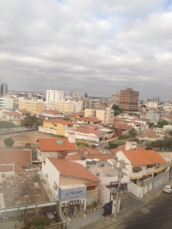 Ibis Petrolina: view from my 5th floor window
