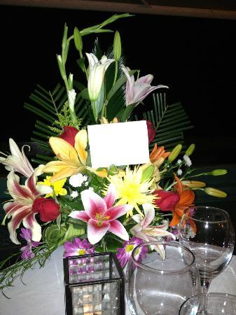 Gaia Hotel & Reserve : Birthday Flowers