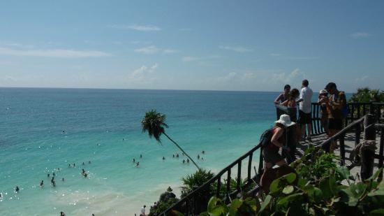 Sandos Playacar Beach Resort: Beach at Tulum