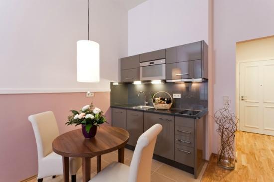 Aparthotel Am Schloss: Küche