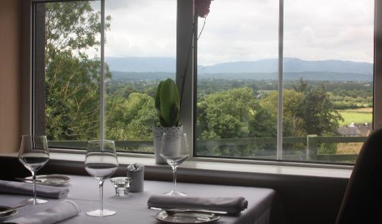 View from Kilkieran Cottage Restaurant