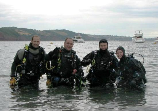 Scuba Scene: Shore diving at Babbacombe Beach, Torquay