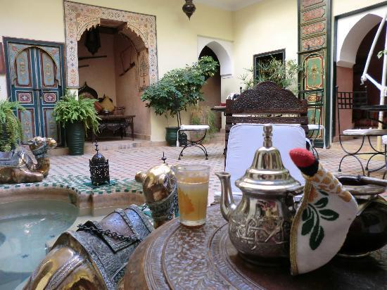 Riad Julia: patio