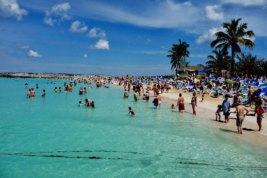 Gorgeous Water Picture Of Great Stirrup Cay Berry Islands Tripadvisor