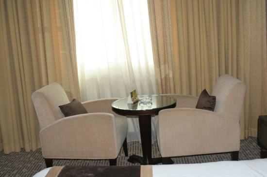 The Carlton Tower Hotel: camera con vista