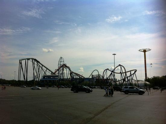 kingda ka water park all to themselves ジャクソン six flags great