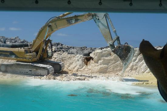 Ongoing Construction Of The Island Picture Of Great