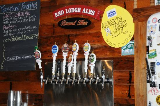 Gallagher's Irish Rose B&B: Sam's Tap Room at the Red Lodge Brewing company