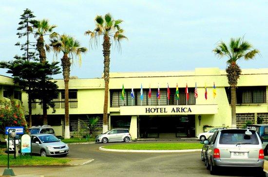 Panamericana Hotel Arica: Entrada al hotel