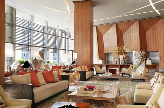 Trump International Hotel & Tower Panama: Hotel Sky Lobby