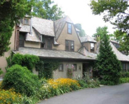 Hotel Du Village is tucked away in New Hope, Bucks County, Pa