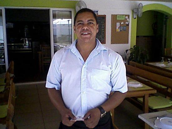 Restaurante Carlos: Carlos outside his Restaurante