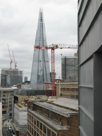 Premier Inn London Southwark (Tate Modern) Hotel: The 'Shard' Skyscraper viewed from room 807