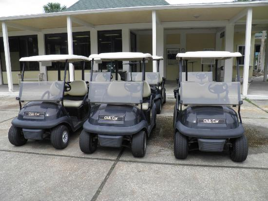 Indigo Lakes Golf Club: Indigo Lakes Golf Carts