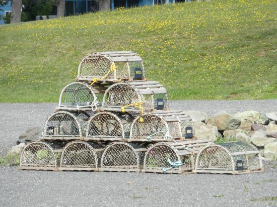 Pictou Lodge Beachfront Resort : Lobster Traps