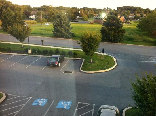 Comfort Inn Lancaster County : view from the 3rd fl