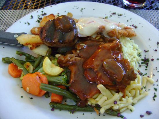 Edelweiss Restaurant: Edelweiss Platte